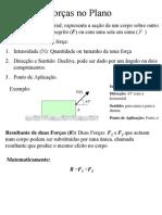 Forças _Plano
