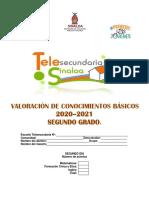 EXAMEN TERCER TIMESTRE SEGUNDO GRADO SECUNDARIA SEGUNDO DÍA (2)