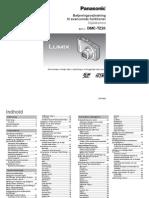 Panasonic Lumix TZ20 Betjeningsvejledning (Dansk)