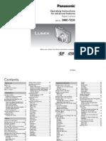 Panasonic Lumix TZ20 / ZS10 Operating Instructions (English)