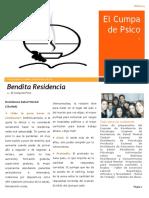 Bendita Residencia 2017