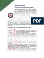 API - Guía de Aceite  para Motores