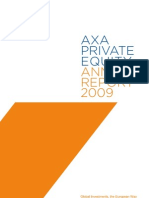 2009 Annual Report AXA Private Equity