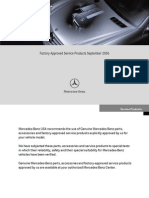 MB 2006 FactoryApprovedServiceProducts
