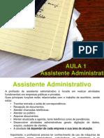 AULA 1 - Assistente Administrativo - Com Simone