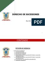 03-PPT-DERECHO DE SUCESIONES-PETICIÓN DE HERENCIA-ABG. JAIME RENÉ GUARINO CALIZAYA-UNJBG-202 I.