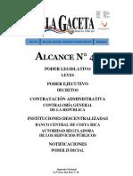 CODIGO PROCESAL AGRARIO GACETA