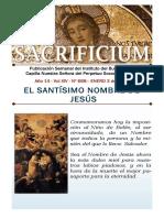 El Santísimo Nombre de Jesús