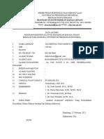 Form Alumni u Kosong