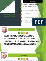 AVANCE TRABAJO DE INVESTIGACION DERECHO LABORAL