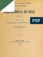 Revista de La Guerra de Independencia de Chile