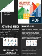 Actividad Física 3°B Grupo 2