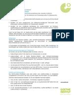 Ausschreibung DaF-Exzellenz-Praktikum SAM De