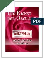 Die Kunst Des Oralsex PDF Kostenlos