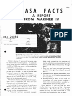 NASA Facts A Report From Mariner IV