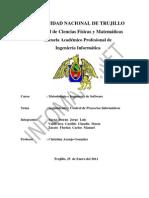 Seguimientos y Control de Proyectos Informaticos