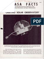 NASA Facts Orbiting Solar Observatory
