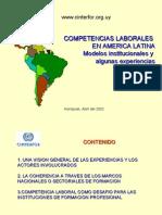 COMPETENCIAS LABORALES EN AMERICA LATINA