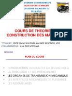 Chapitre III. ORGANES DE TRANSMISSION DE PUISSANCE