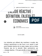 Énergie Réactive Définition, Enjeux Et Économies