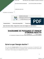 Principe de compensation d'énergie réactive - Blog Technic-Achat