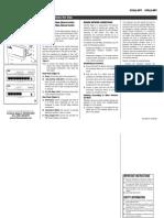 10-100 Mbps 5 or 8 Port Ethernet Switch Instruction Sheet