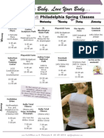 One Fit Mama Philly Spring Schedule 2011
