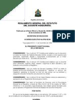 Reglamento Estatuto Del Docente1