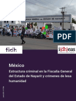 FIDH-IDHEAS - Informe Nayarit (Español)