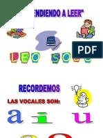 APRENDER LA LEER 1 LAS VOCALES