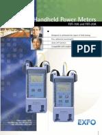 EXFO FOT-20A Power Meter Data Sheet[1]