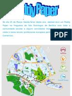 Informação sobre o Peddy Paper da escola EB1 Frei Luís de Sousa