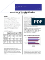 Juvenile Recidivism Rate