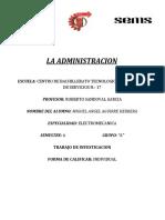 RECURSOS HUAMNOS DE LA ADMINISTRACION