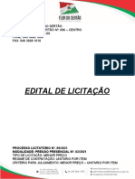 Edital Flor Do Sertão