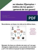 5to Año - Gases Ideales - Ejercicios y Ecuación General