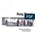 Novel Riang Merapi