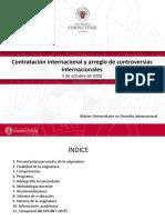 Presentación Contratación Internacional y Arreglo de Controversias