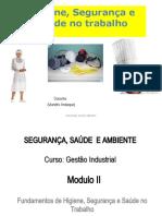 Modulo II Higiene Segurança, Saúde
