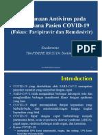 4.Penggunaan Antivirus Pada Tatalaksana Pasien COVID 19 Dr.soedarsono