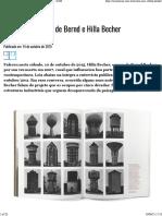 Becher - O léxico industrial de Bernd e Hilla Becher - ZUM