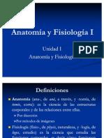 1. Anatomía y Fisiología I