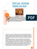 Comida Tipica de Tehuacan