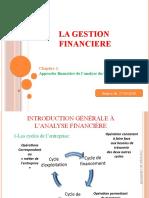 Cours 1 Analyse Financiere Du Bilan Copie Student