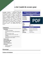 Section Française Du Comité de Secours Pour l'Arménie