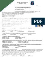 8° HISTORIA - PRUEBA DE DIAGNOSTICO