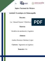 Unidad 4 Modelos de simulación y logística