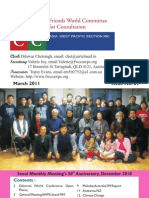 FWCC AWPS Newsletter. March 2011. Issue No. 89