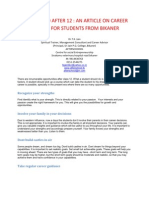 What to Do After 12 - An Article on Career Options for Students From Bikaner