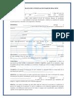 Contrato de Cuentas en Participación 1